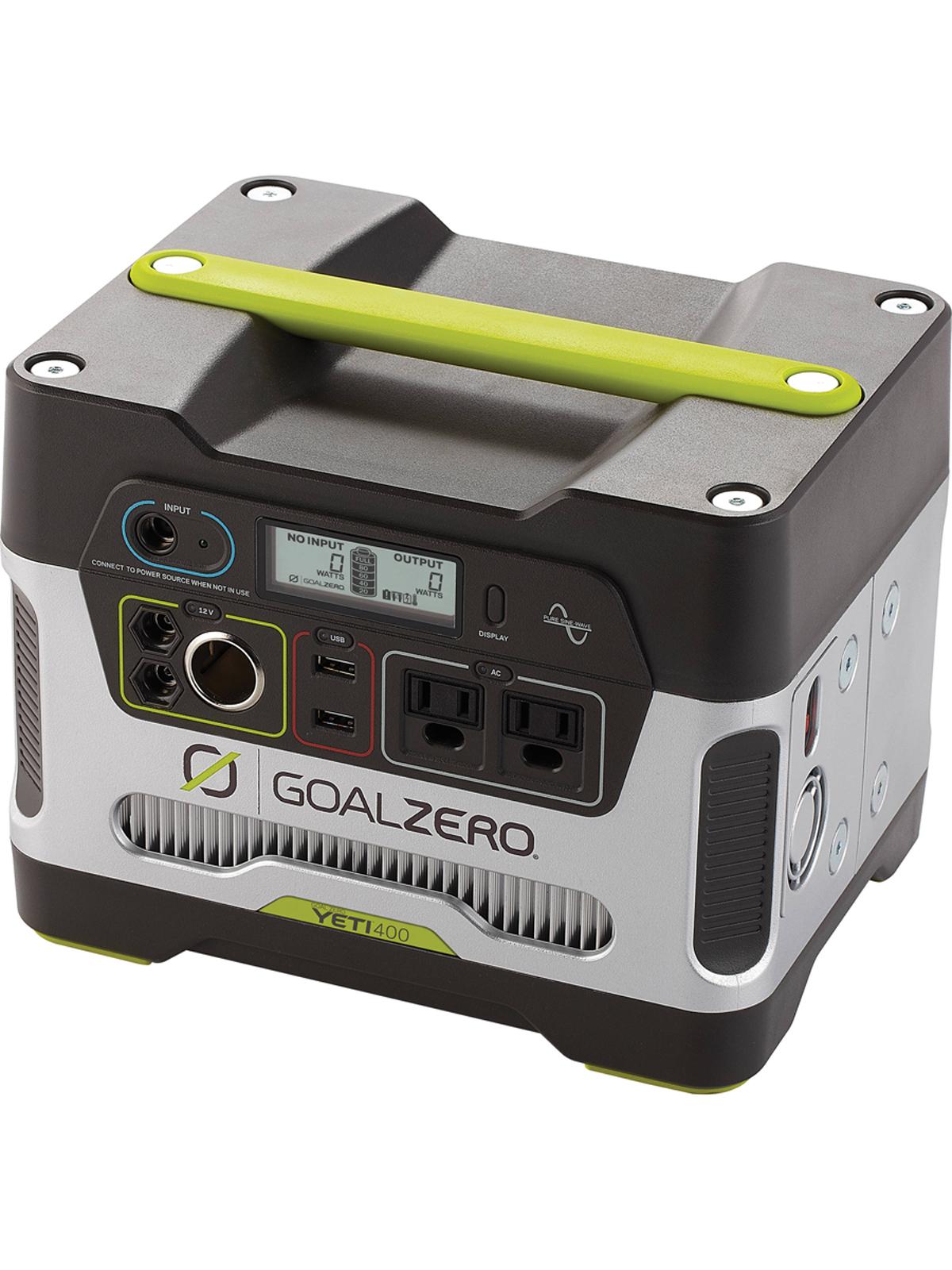 Goal Zero Yeti 400 Aerotrac