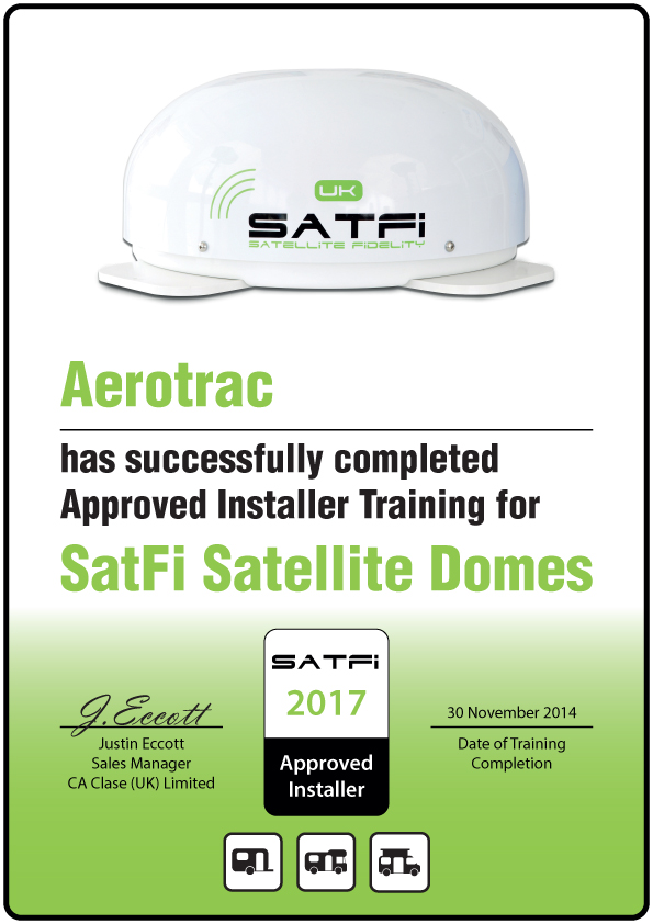 Approved Satfi Installer Aerotrac Aerotrac
